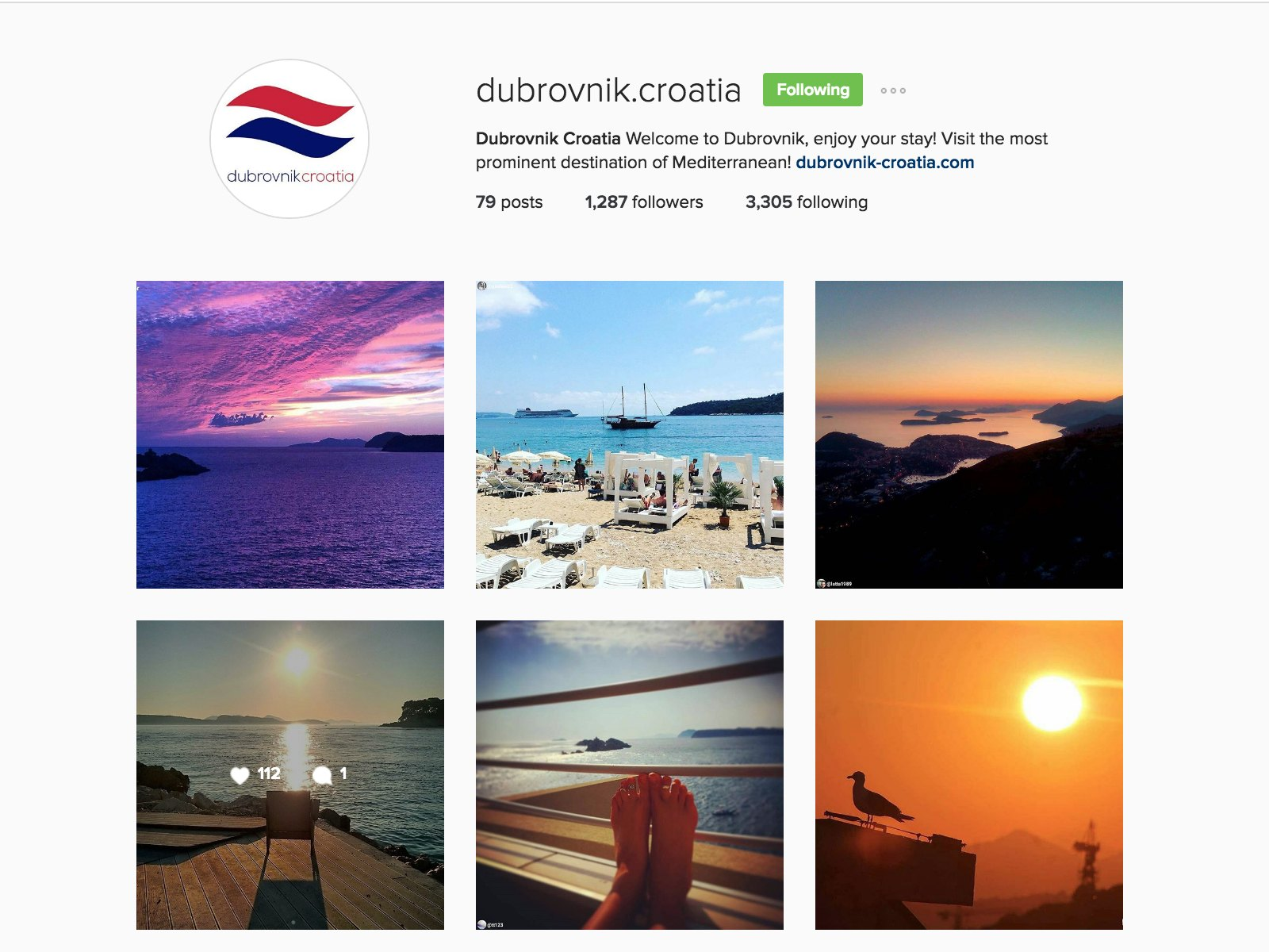 dubrovnik croatia instagram