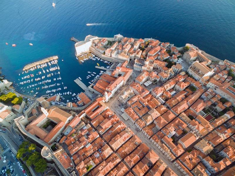 Dubrovnik Stradun Kamenice