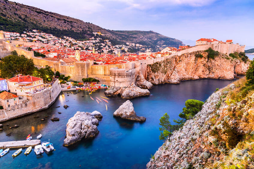 dubrovnik city walls game of thrones dubrovnik filming location
