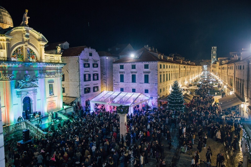 Dubrovnik Winter Festival Big Opening