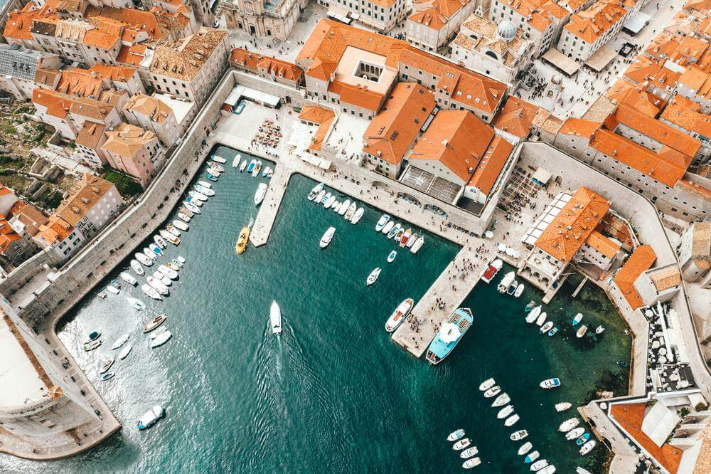 dubrovnik old town port