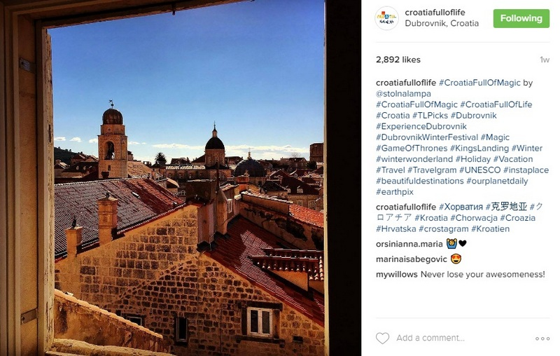 Croatia Full of Life instagram Dubrovnik roofs