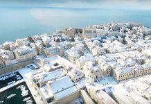dubrovnik snow croatia snijeg 2017