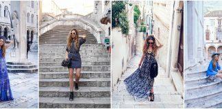 Amra Beganovich Travel Blogger Dubrovnik beach style travelers