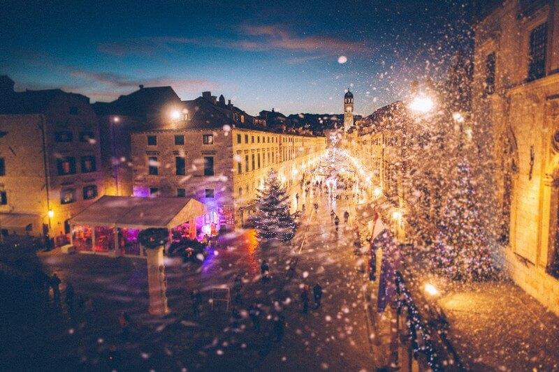 travel visit dubrovnik in winter Josipa Dragun Dubrovnik winter festival