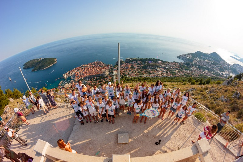 DUD BOWL tennis tournament Dubrovnik center Srđ Cable Car mountain