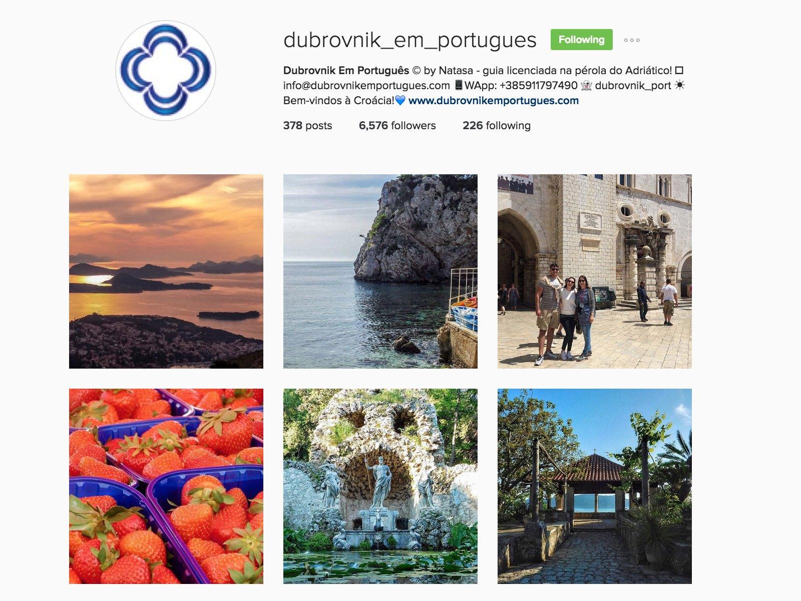 em portuges dubrovnik instagram