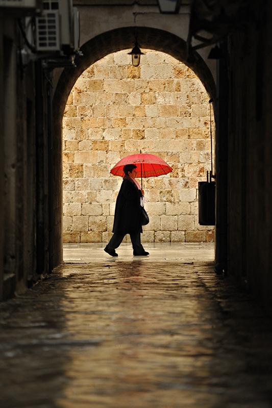rain Dubrovnik