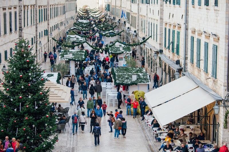 Old Town Dubrovnik Dubrovnik Winter Festival