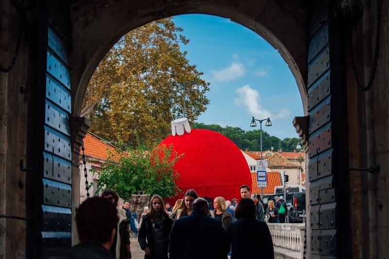 Pile Gate Dubrovnik Winter Festival