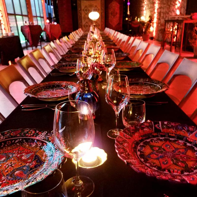 Gypsy table dinner Richard Gruica Lazareti