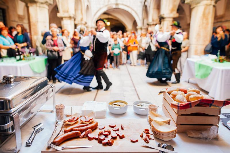 what to do Dubrovnik food gastro Festival