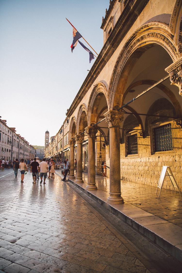 Dubrovnik Street Old Town