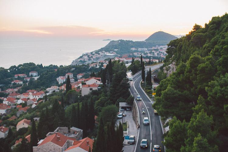 Dubrovnik Croatia Road