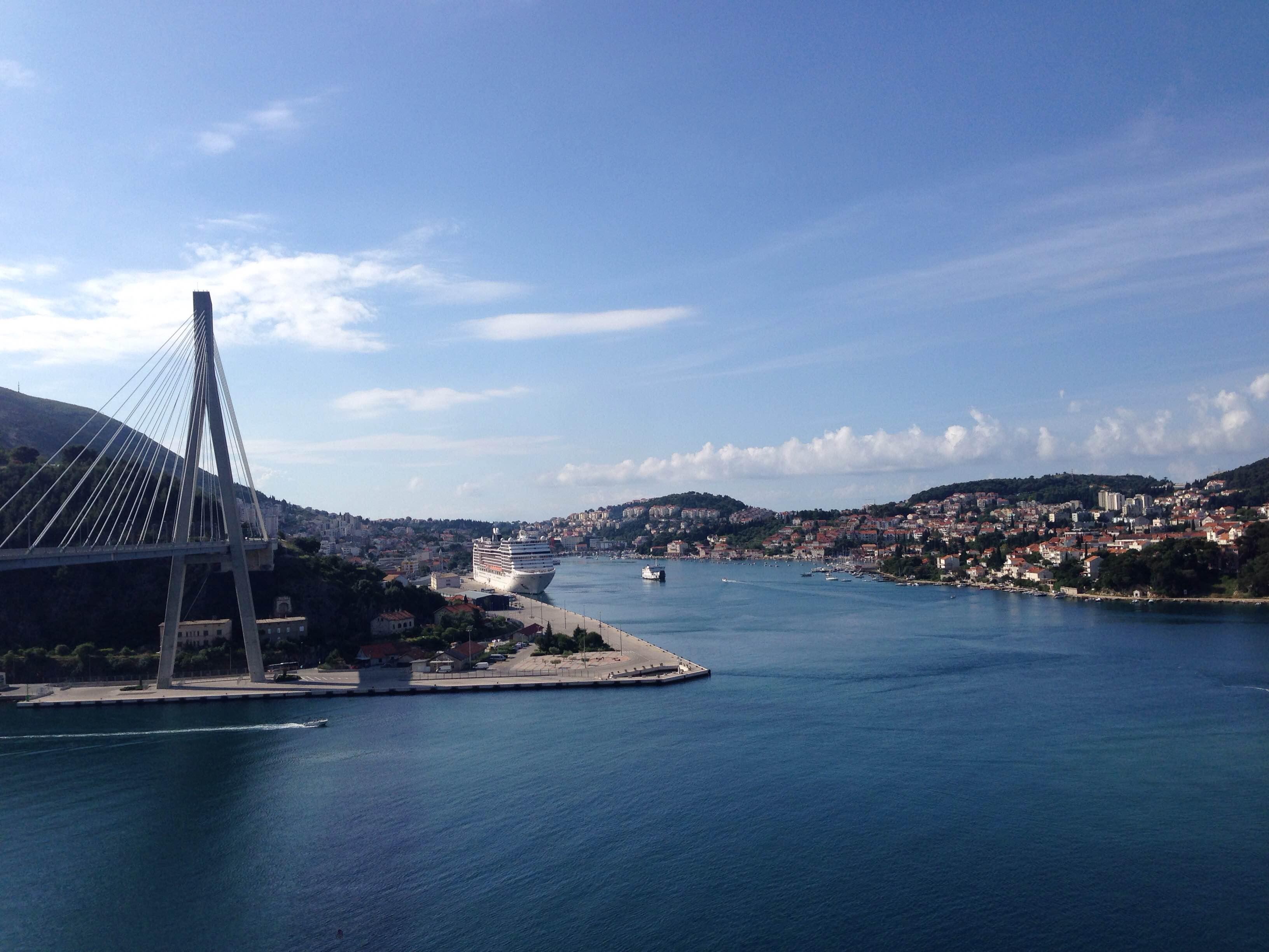 go dubrovnik most the bridge