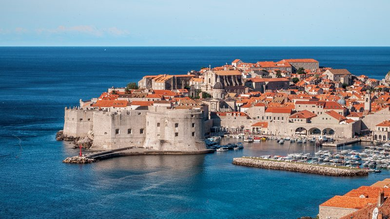 Go Dubrovnik guide city Chasing the Donkey blogger summer old town