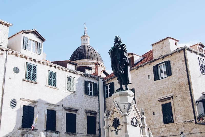 Dubrovnik Gundulićeva poljana arhitektura