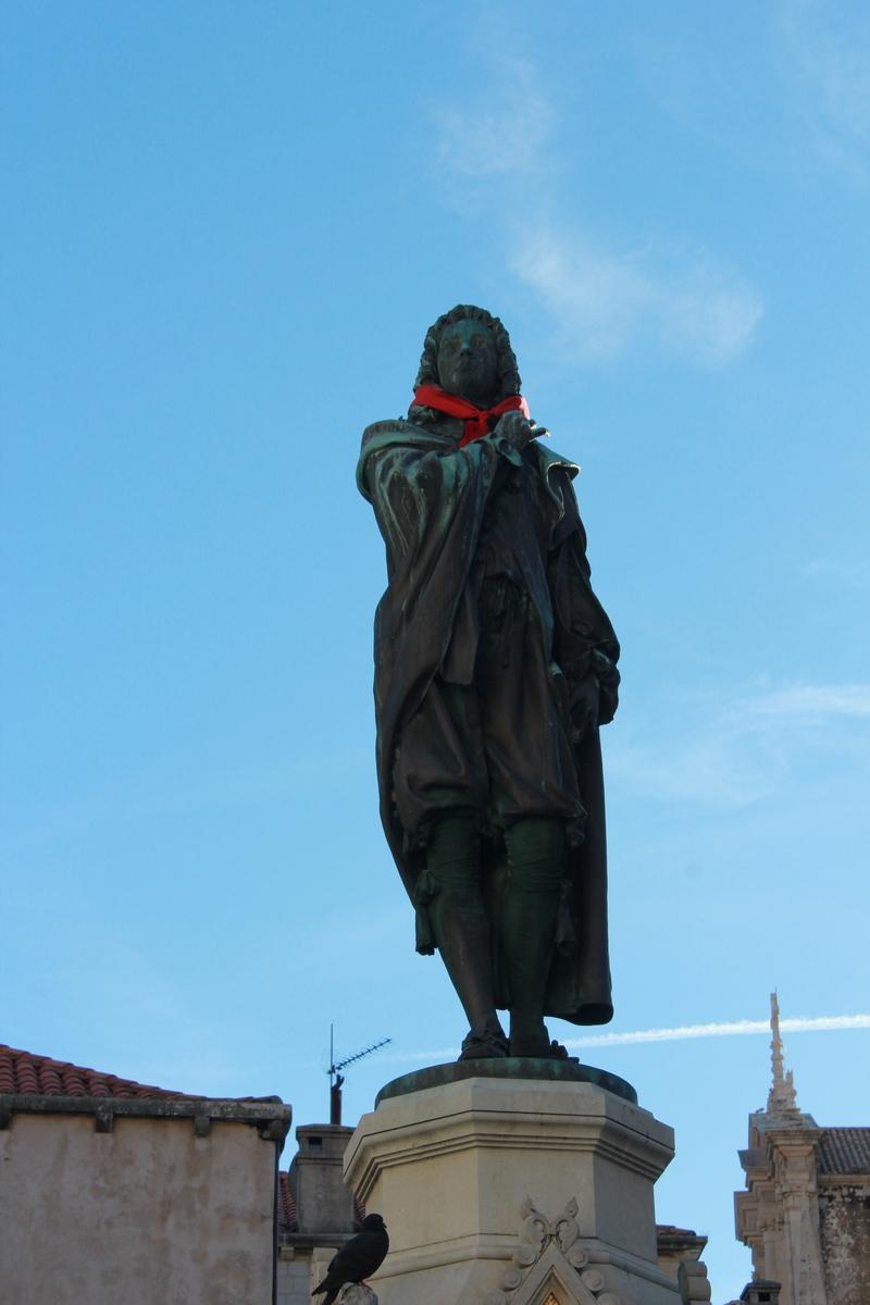 Croatian tie Necktie Cravat Croatia Dubrovnik Ivan Gudnulic square