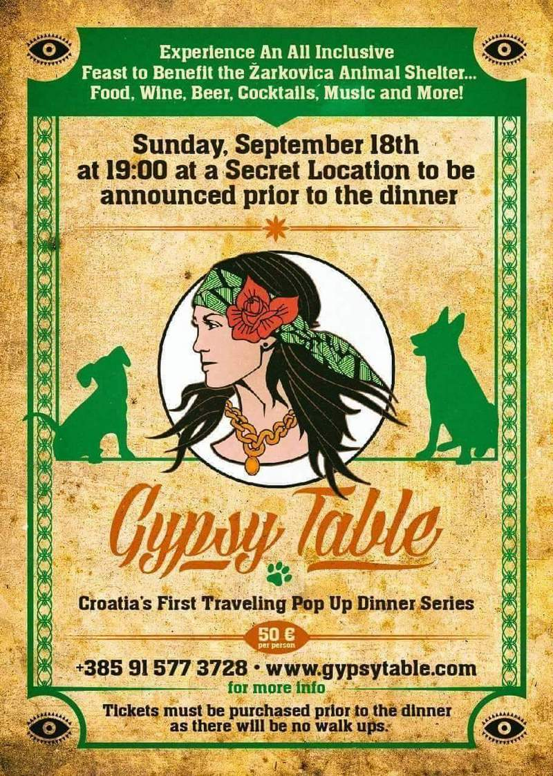 Gypsy Table food festival Dubrovnik GoDubrovnik