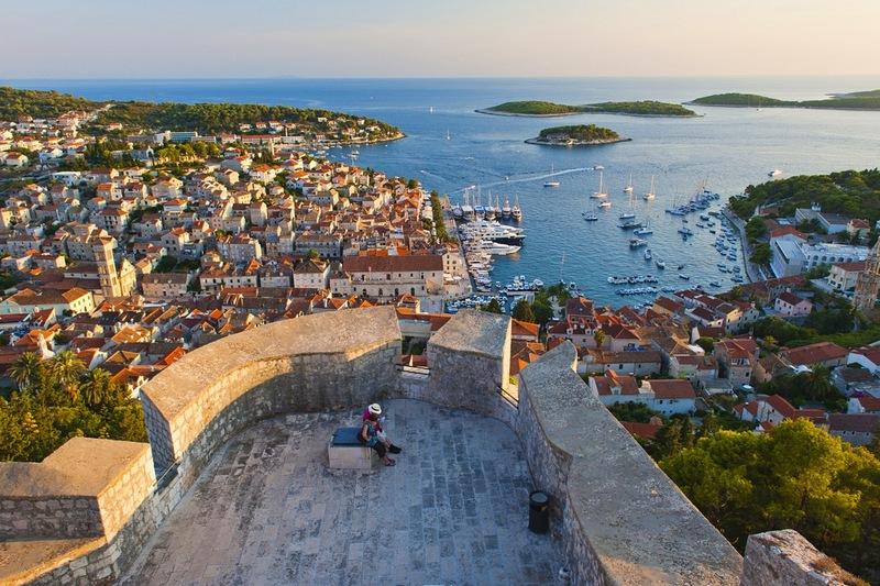 Hvar Old Town island Dubrovnik