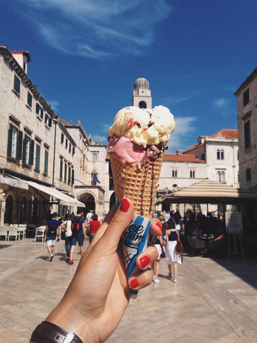 ice cream dubrovnik go dubrovnik