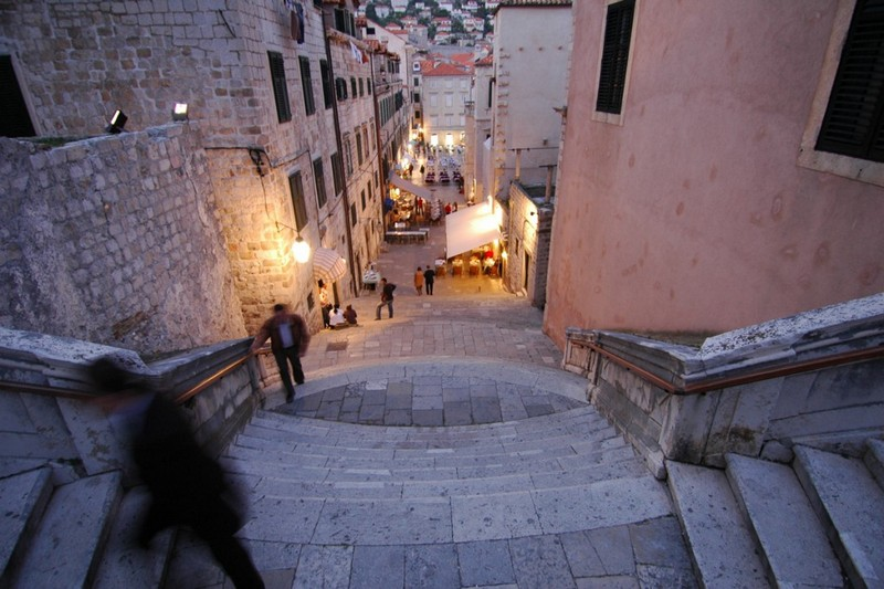 Jesuit Stairs Dubrovnik Game of Thrones location King's landing Croatia