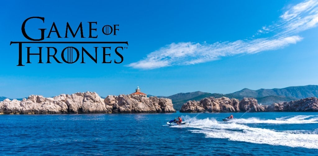 jet ski game of thrones filming locations tour