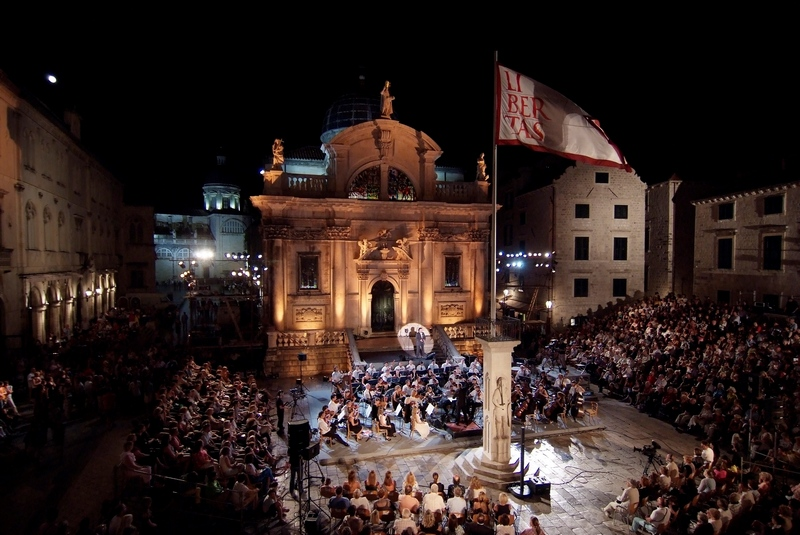 Dubrovnik church Dubrovnik Summer Festival Jose Cura