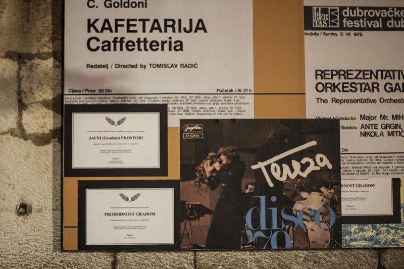 La Bottega de Caffe art Dubrovnik Summer Festival Dubrovnik GoDubrovnik blogger Roza Zanini Kafetarija show