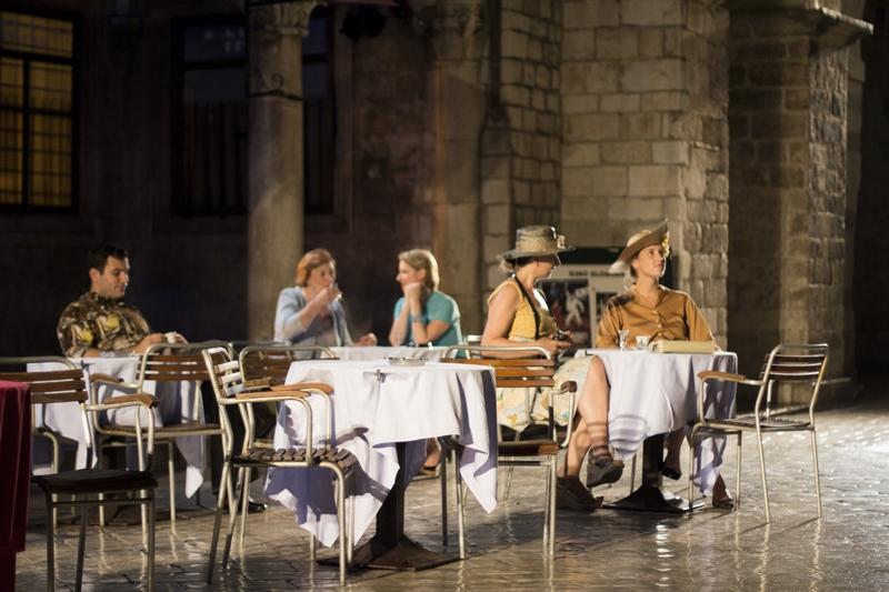 La Bottega de Caffe art Dubrovnik Summer Festival Dubrovnik GoDubrovnik blogger Roza Zanini Kafetarija scene