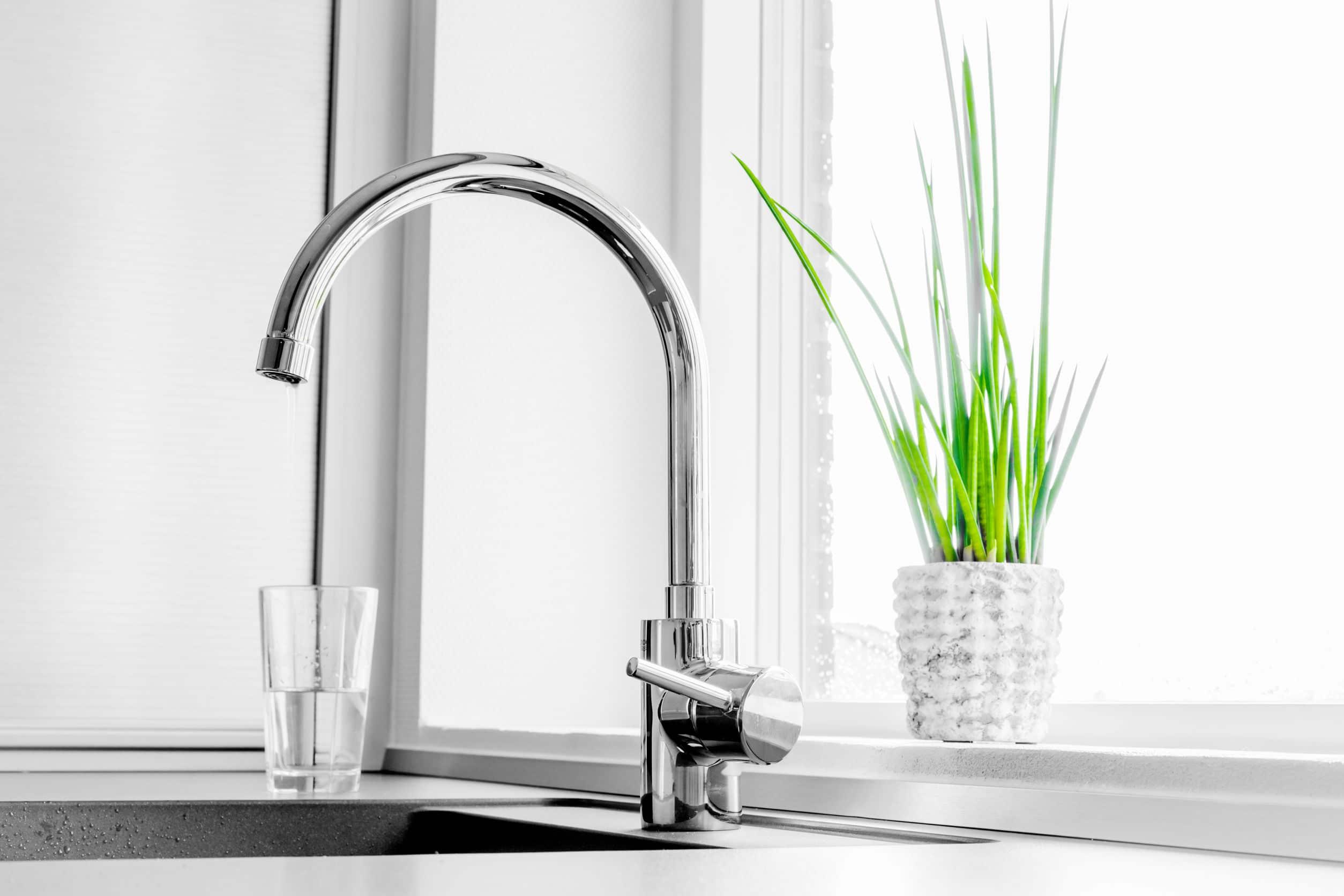 faucet kitchen sink
