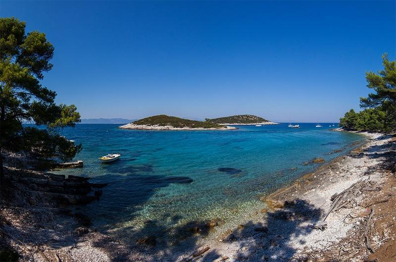 Mali Žal beach nature island Lastovo Dubrovnik GoDubrovnik Chasing the Donkey