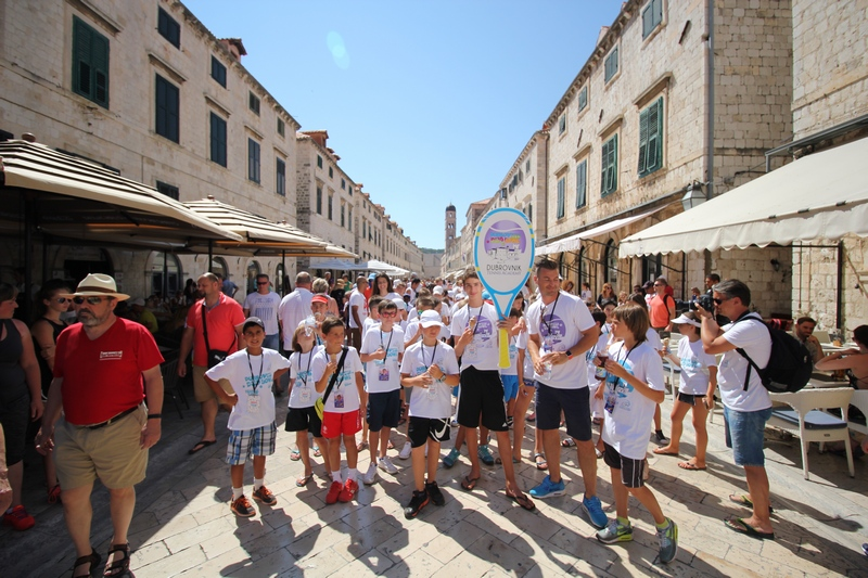 Stradun Dubrovnik dud bowl tennis