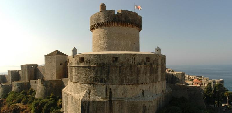 city walls Fortress monuments Dubrovnik GoDubrovnik Sponza Stradun Street Minčeta