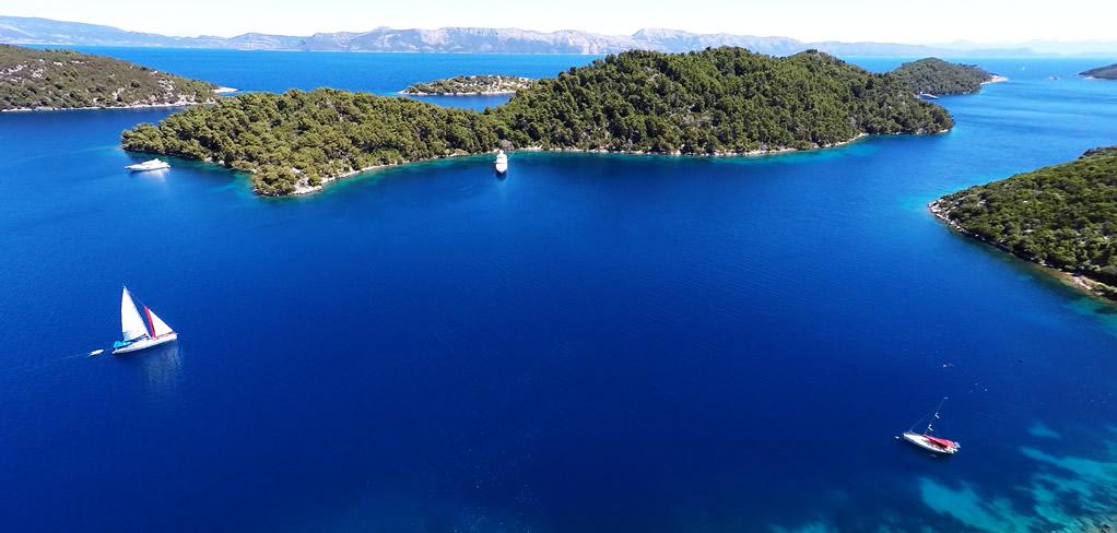 island Mljet Dubrovnik GoDubrovnik summer Adriatic coast
