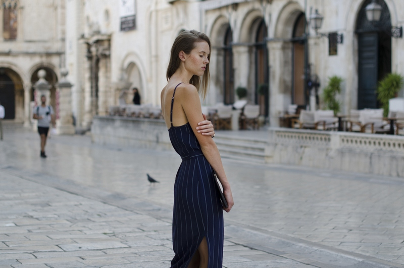 blog blogger Monica Bestek Dubrovnik summer Stradun fashion