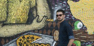 Marko Boko Graffiti na gradele Bol art festival