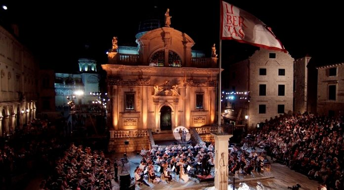 Dubrovnik Summer Festival art music Old Town