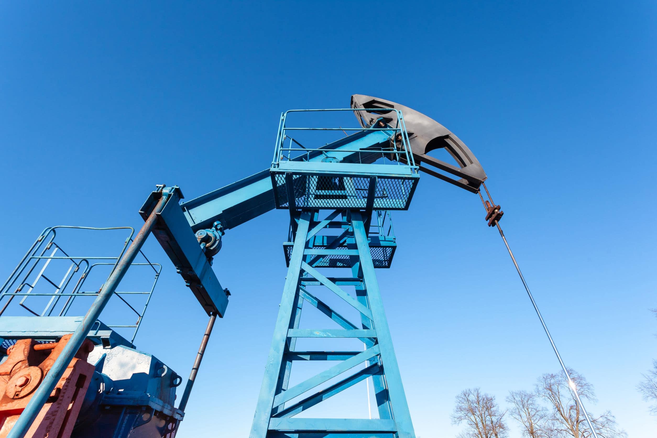 Oil Rig Texas