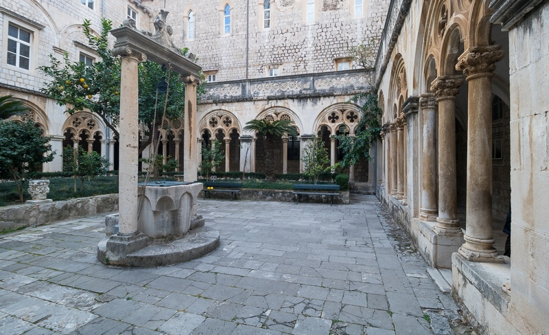 Dominican Monastery Dubrovnik Old Town architecture