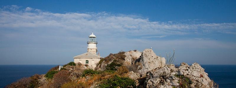 the smallest island of Croatia Palagruza