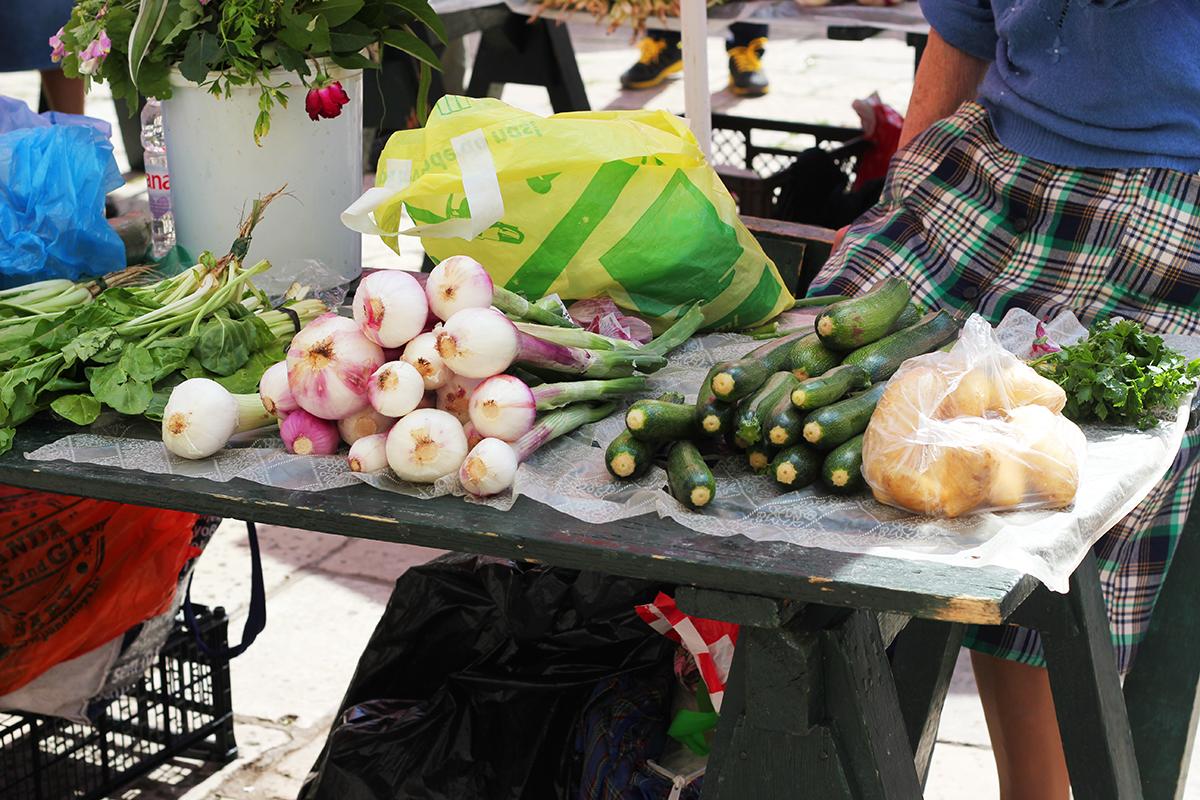 pjaca dubrovnik green market organic food