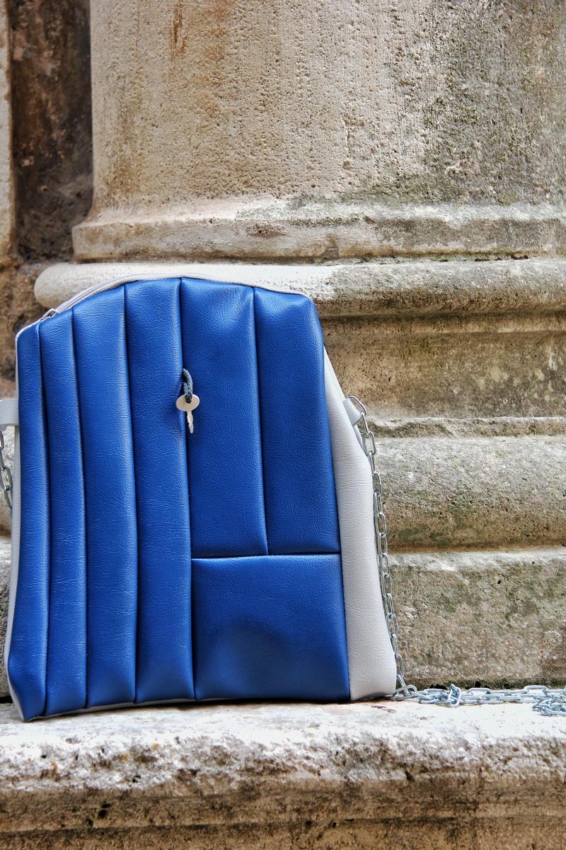 plava dubrovnik RDcode torba Renata Debeljak
