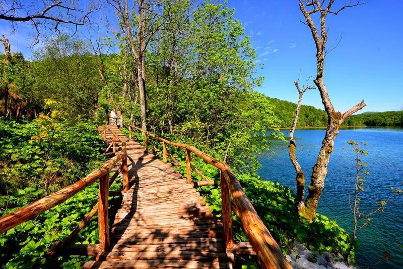 Gornja jezera Plitvice lakes Croatia