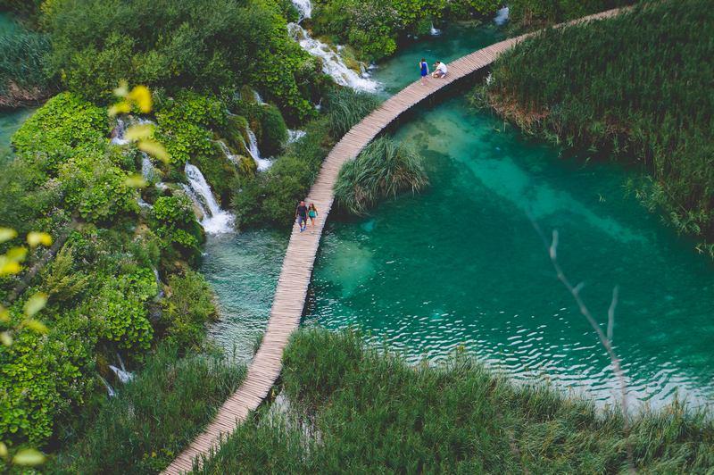 Plitvice lake national park Croatia