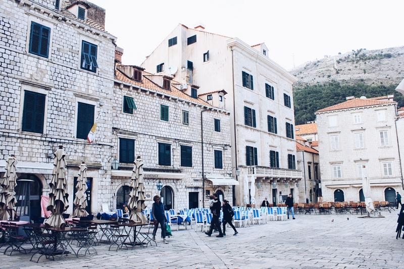 Gundulićeva poljana arhitektura Dubrovnik