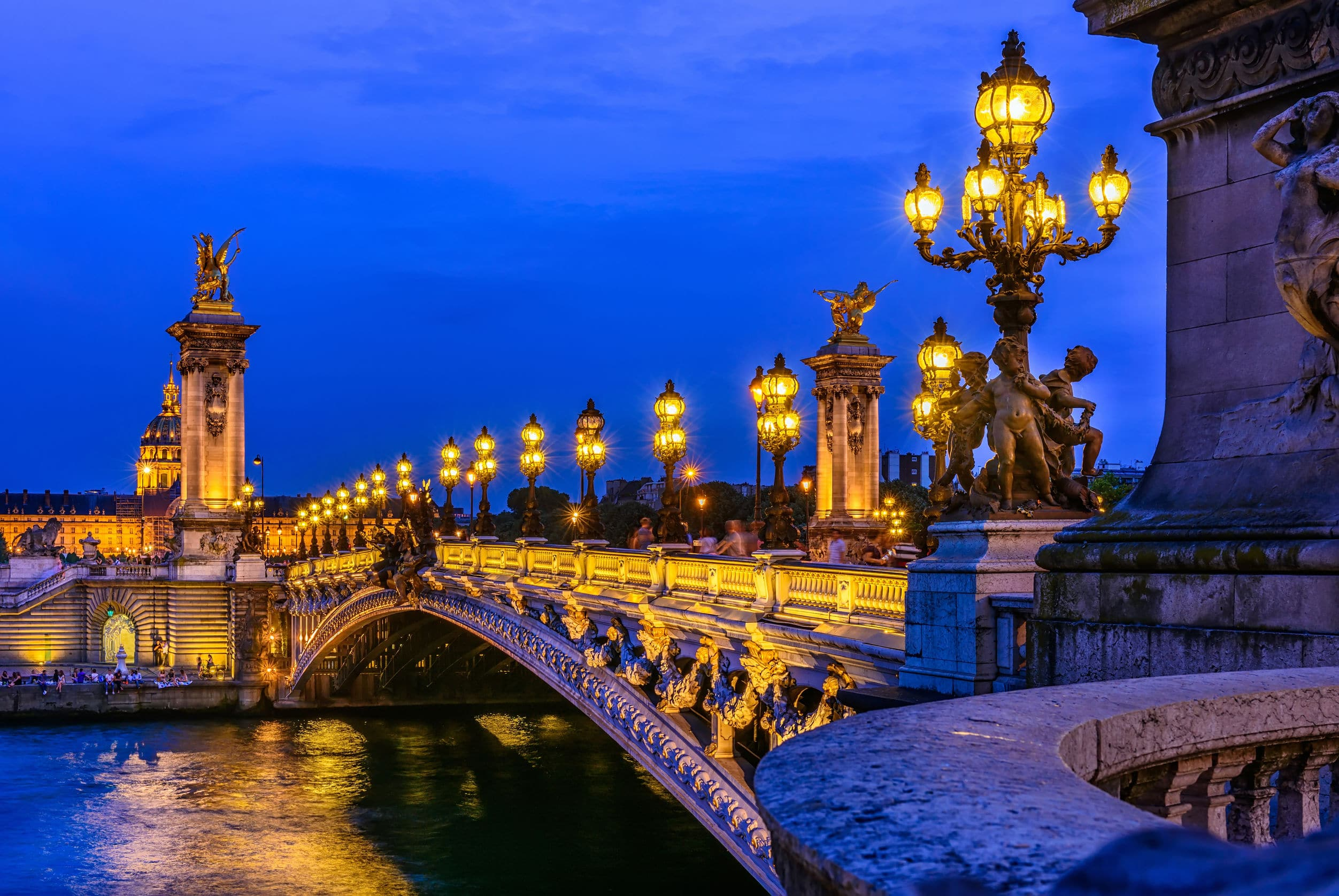 Alexander Bridge Seine Paris
