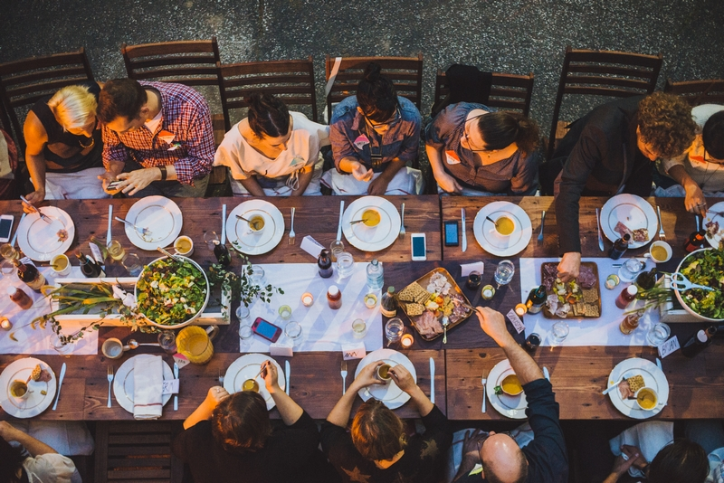 pop up dinner Food Festival Gypsy Table Dubrovnik