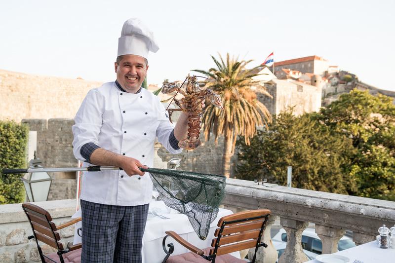 ivica chef Posat Dubrovnik