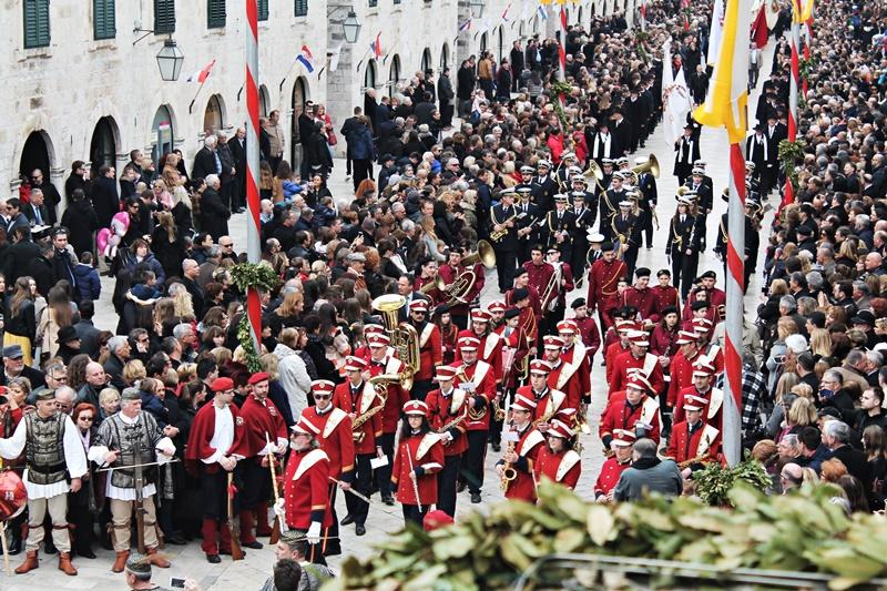 procesija Zatvaranje Festa sv. Vlaha Dubrovnik